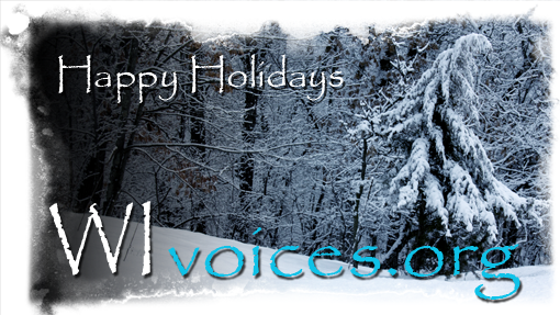 Happy Holidays from WIvoices.org